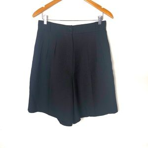 Vintage 80's pleated high waisted shorts size 14